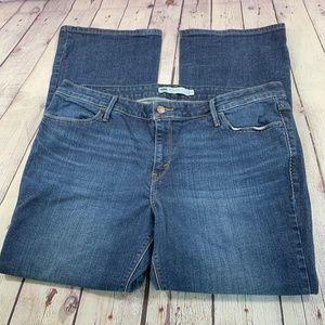 Levi's 590 Bootcut Jeans Flap Pocket Size 18W